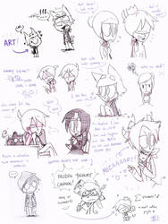 100614 Dreamity sketchies by kurisquare