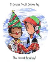 O Christmas Troy by kurisquare