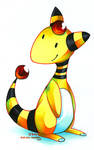Ampharos by kurisquare