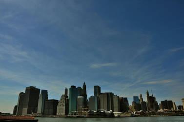 South Manhattan View by leonardousta