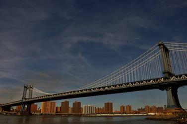 Manhattan Bridge by leonardousta