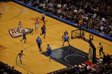Nets vs Magic by leonardousta