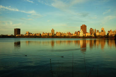 Central Park Lake by leonardousta