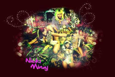 Nicki Minaj by blonddiva