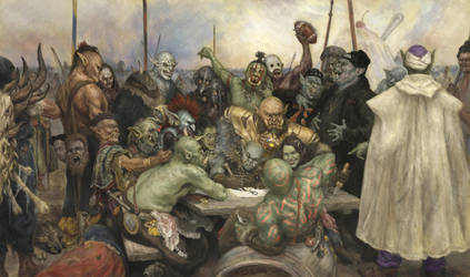 Orc Chieftains by Andrew-Gibbons