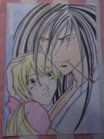 kyo  and  yuya   love by loverkyo