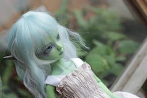 Green undine by Saturn86