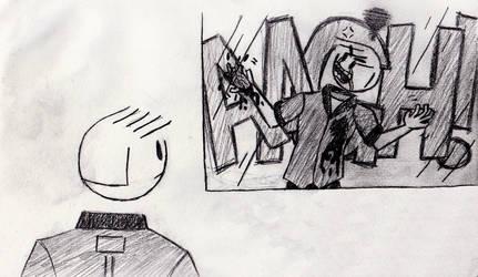 Zack's Self Reflection 2 by viperfan14