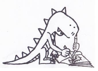 Drawing Dinosaurs by viperfan14