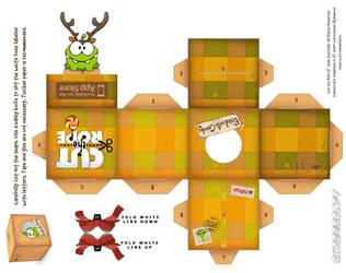 Om-Nom Reindeer Holiday Box by viperfan14