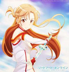 Asuna by AkilaChione