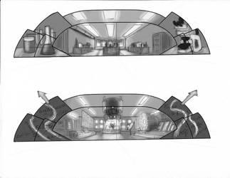 Shell Oil Storyboard #1 by Urzu6