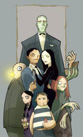 Addams Family by AndreaCelestini