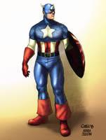 Captain America by AndreaCelestini