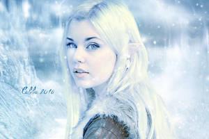 Winter Elf by CeliliaWonder