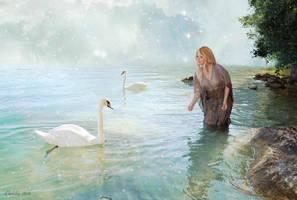 Lac des Cygnes by CeliliaWonder