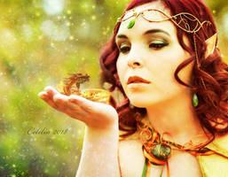 Elven Witch by CeliliaWonder