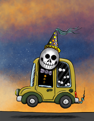 Death Clown by Pensketch