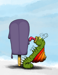 Popsicle Bug by Pensketch