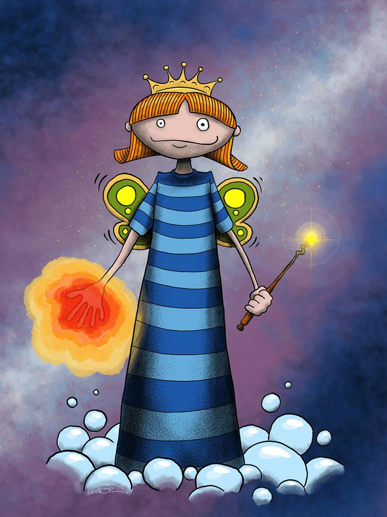Space Princess by Pensketch