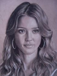 Jessica Alba 2 by Lizapoly