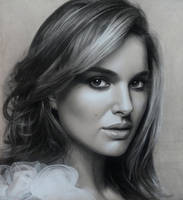 Natalie Portman by Lizapoly