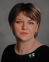 Portrait of Tatyana by Lizapoly