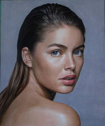 Portrait of Doutzen Kroes by Lizapoly
