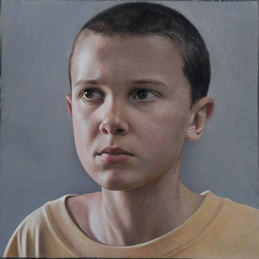 Portrait of Eleven by Lizapoly