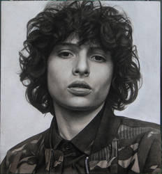 Portrait of Finn Wolfhard by Lizapoly