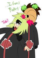 Tobi feels pretty by thegeekpit