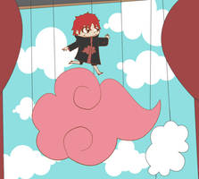 Sasori: Dance in the Clouds by thegeekpit