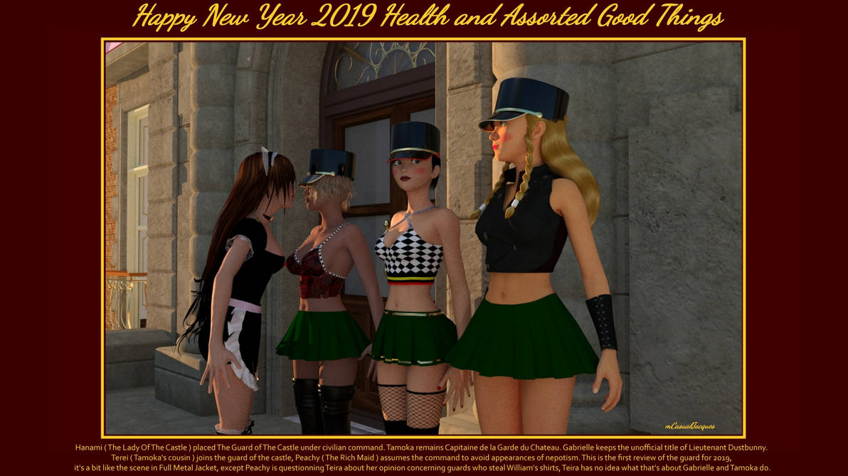 Happy New Year 2019 ! by mCasual