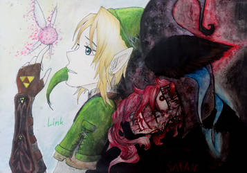 The Legend of Zelda :Twilight princess  by Fontaene
