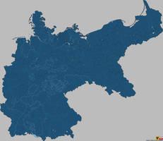 Kreise (Districts) Deutsches Kaiserreich [1900] by ValdoreWorks