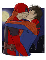 Spideypool by MarySkillet