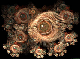 Eye of Anemones by BrainSplatter