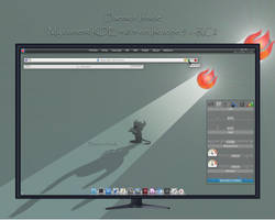 Daemon Inside - My Isotope Desktop by rvc-2011