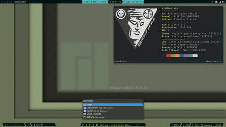 i3 on Manjaro by rvc-2011