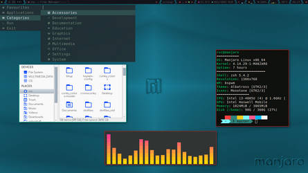 BSPWM on Manjaro - II by rvc-2011