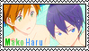 Free! Stamp: MakoHaru 5 by wow1076