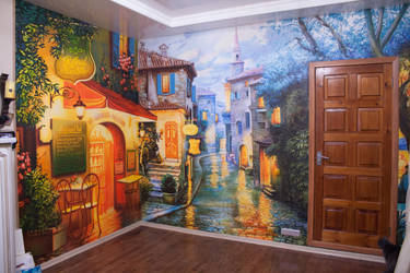 Mural for a private house by tiN-naR