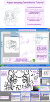 + ComicWorks Tutorial + by Glittercandy