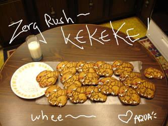 COOKIE ZERGLING RUSH KEKEKE by Glittercandy