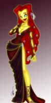 Hades' Queen In Color by SankofaRida