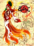 Lady Amaterasu Okami by SankofaRida