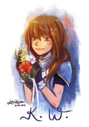 Flowers by dottypurrs