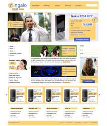 Mobile Phone Company Template by BogdanPantea