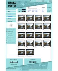 Harta Deltei Gallery Page Template by BogdanPantea