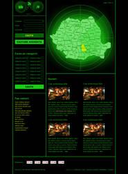 Romania General Info Portal Template by BogdanPantea